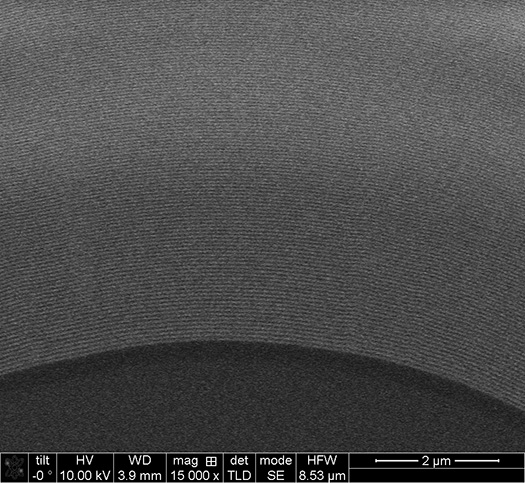 Inner Zone SEM image High-resolution 2